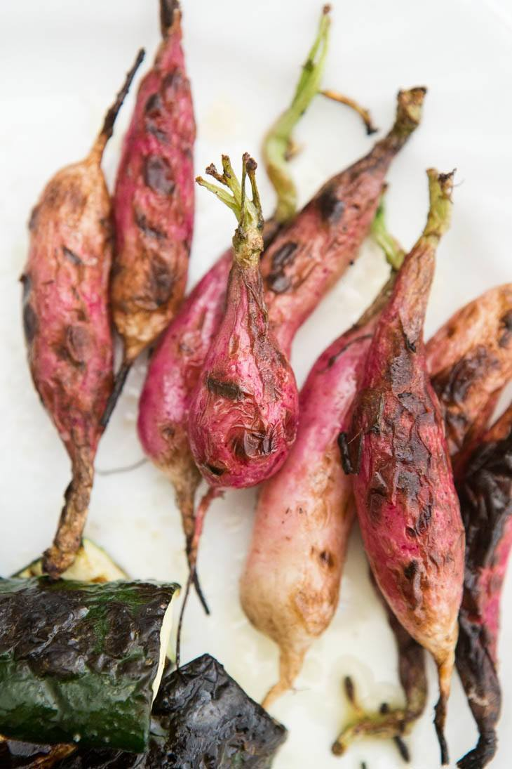 Grilled Radishes | @naturallyella