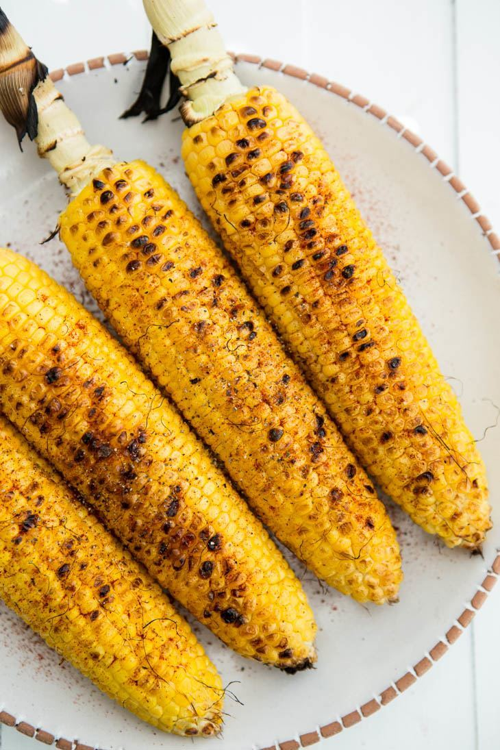 Grilled Corn | @naturallyella