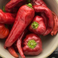 Sweet Red Peppers | http://naturallyella.com