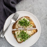 Pear Chutney Cheese Toast