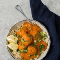 Curried Vegetarian 'Meat'balls