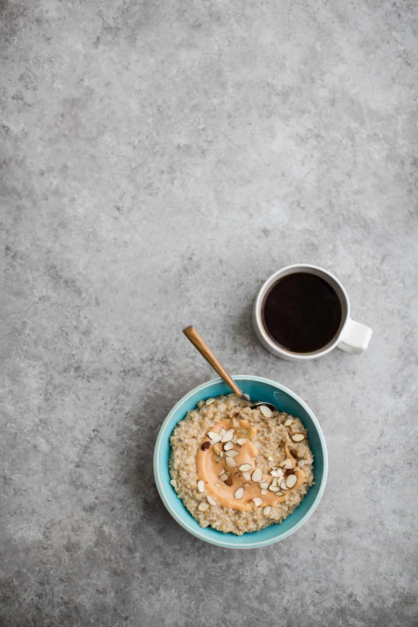 Steel Cut Oats with Citrus Curd