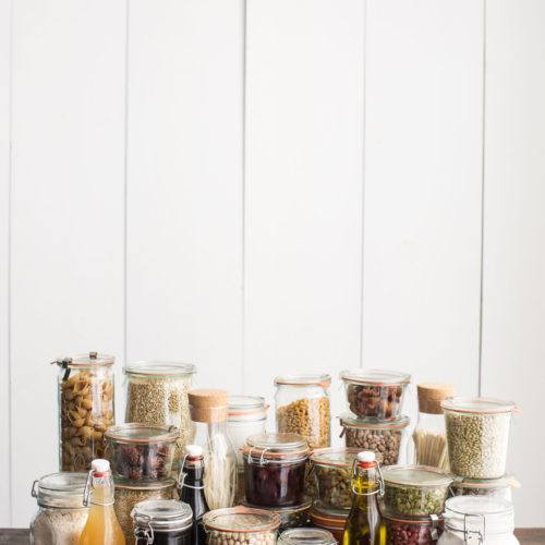 How to Stock a Vegetarian Pantry | @naturallyella