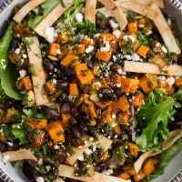 Chipotle Sweet Potato Taco Salad