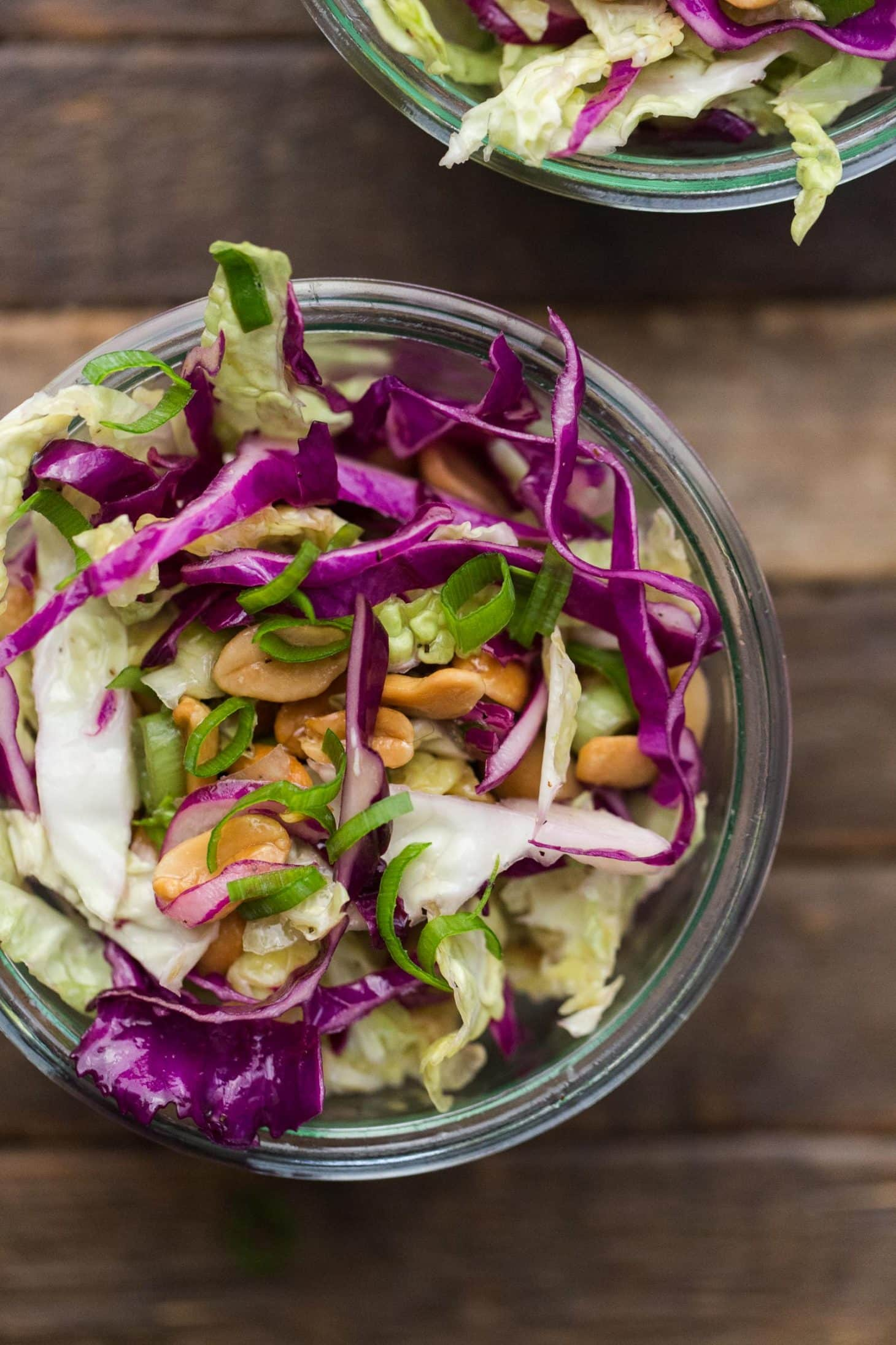 Cabbage Salad with Peanuts | Vegetarian Picnic Recipes