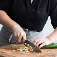 Dicing Scallions