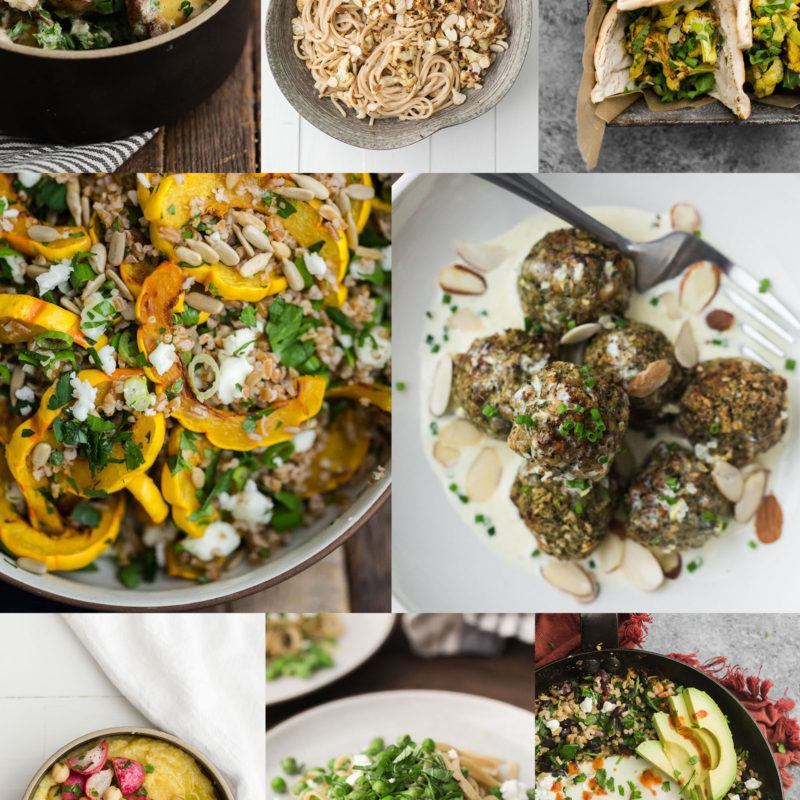 Vegetarian Meal Plan with Real Plans