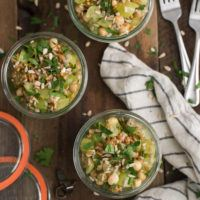 Spelt Grape Salad with Chickpeas