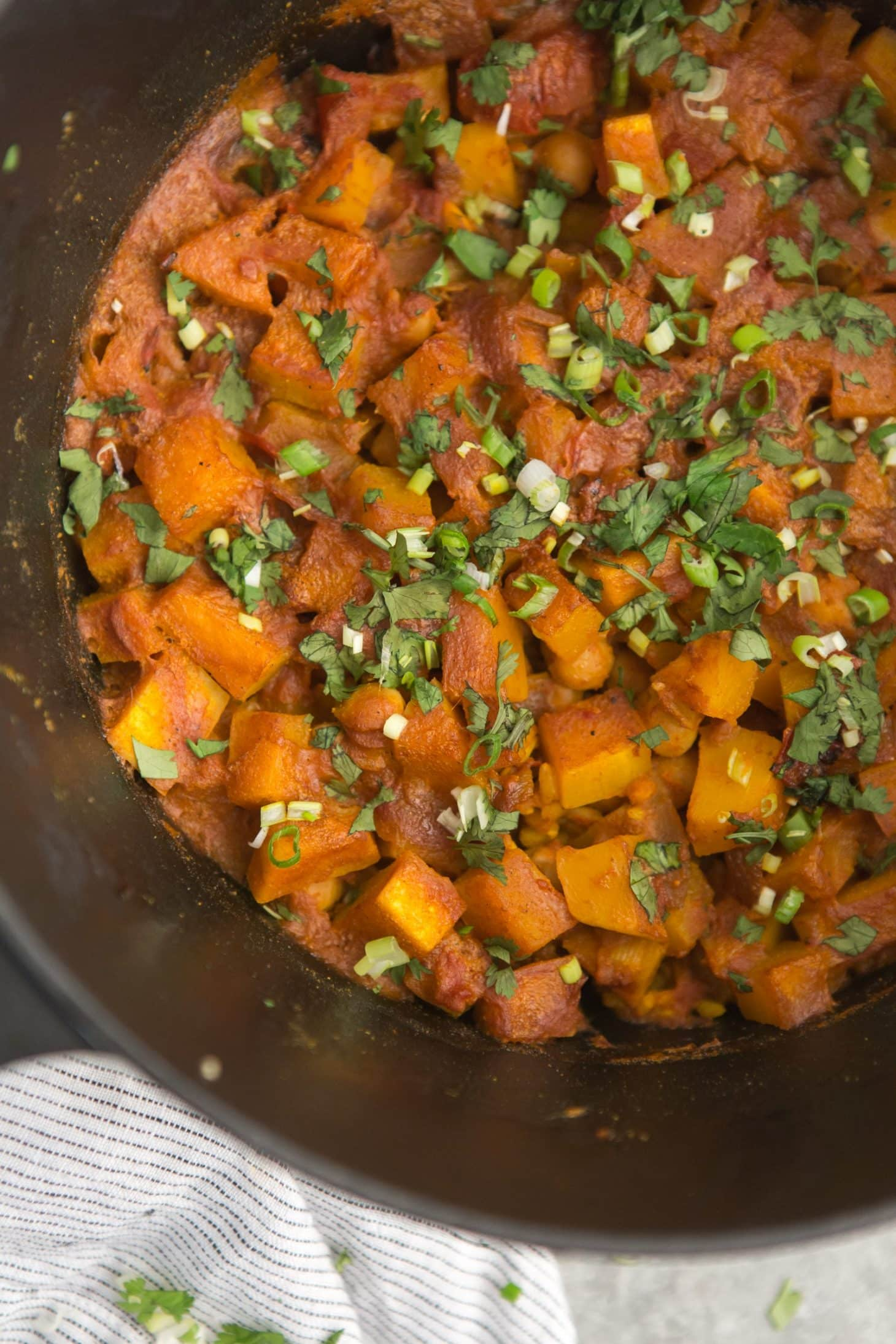 One Pot Rice and Curried Butternut Squash | @naturallyella