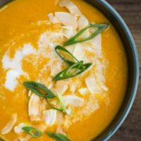 Curried Carrot Soup | @naturallyella