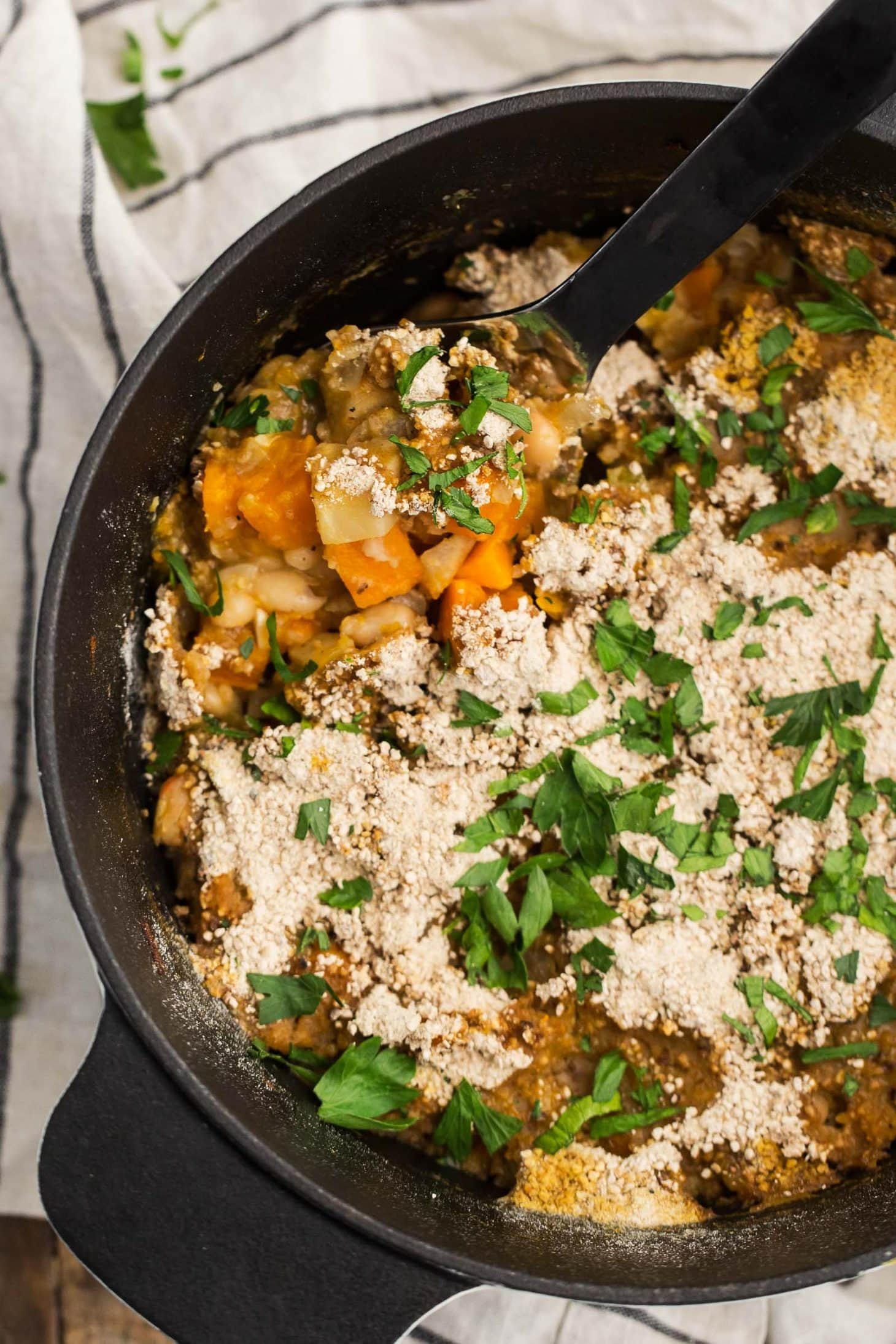 Root Vegetable Cassoulet | @naturallyella