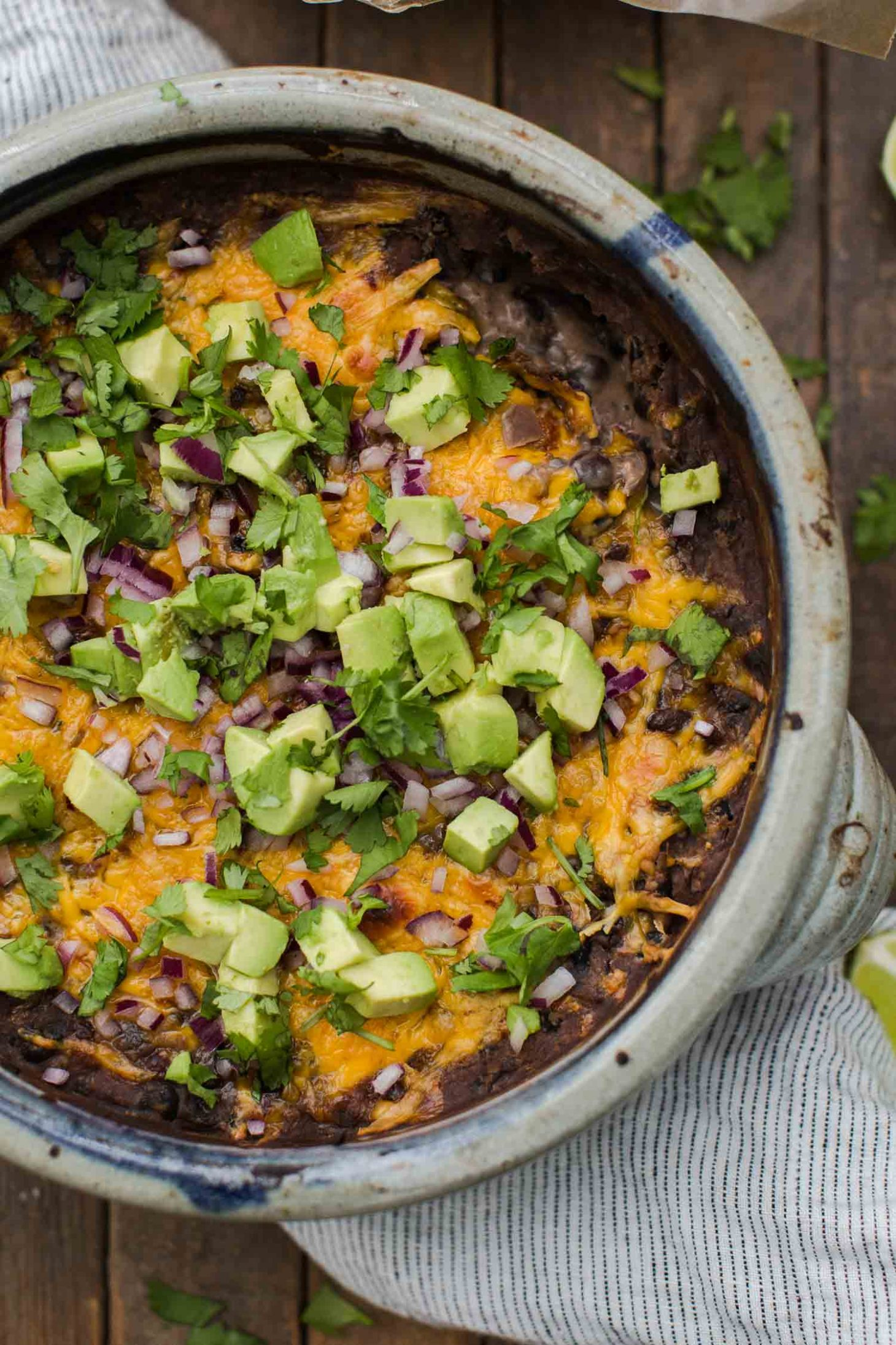 Slow Cooker Black Bean Dip | @naturallyella