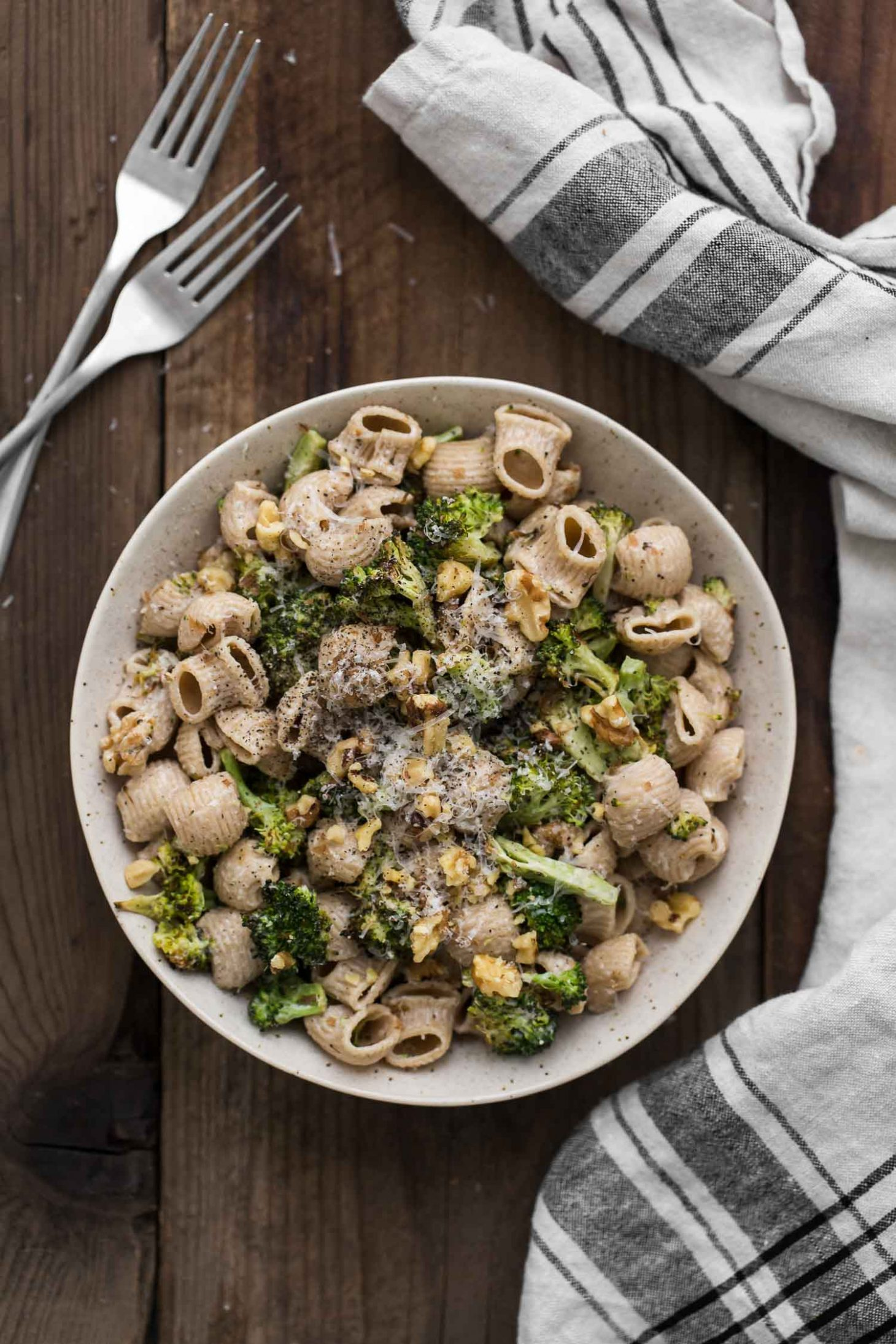 Roasted Broccoli Pasta