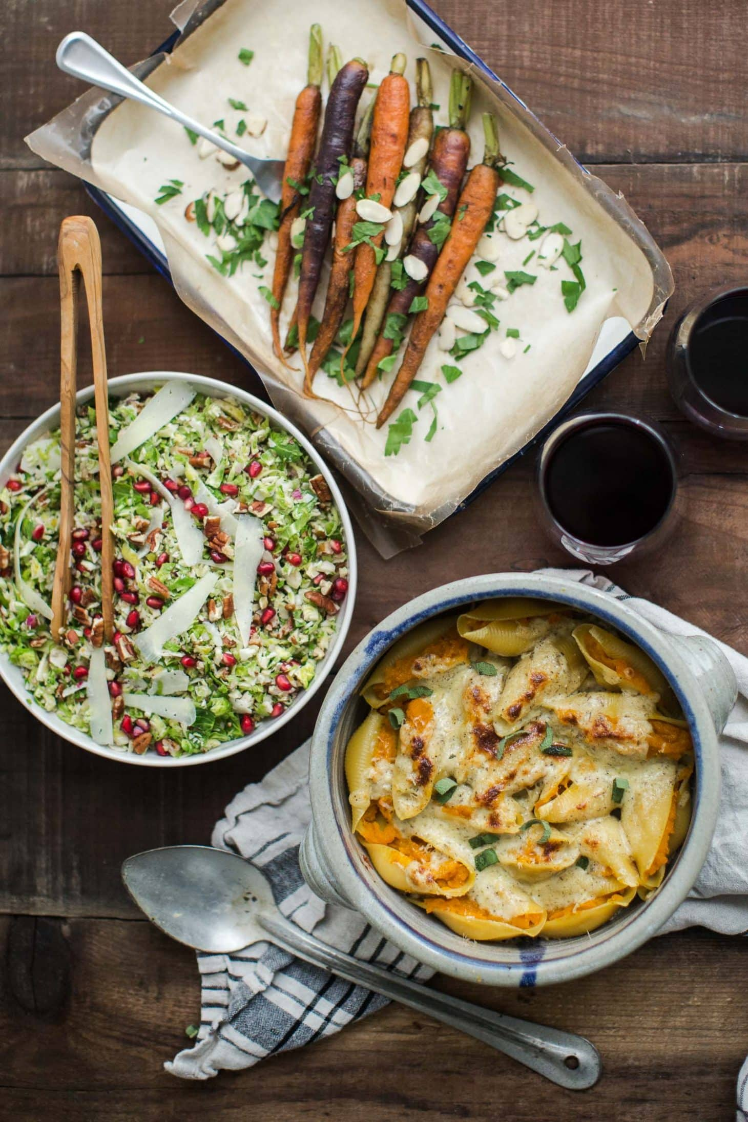 Vegetarian Holiday Meal | @naturallyella