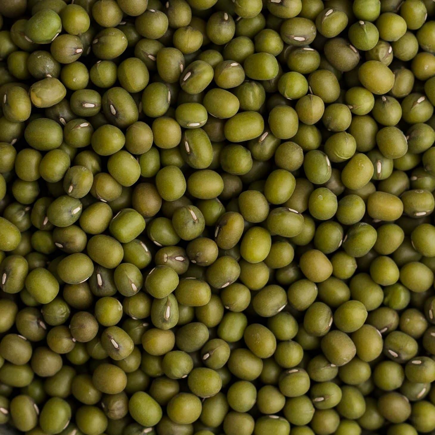 mung beans Mung beans are a delicious source of iron and fiber, and they can be cooked up in no time with minimal effort.