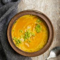 Turmeric Sweet Potato Soup