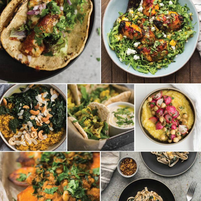A Guide to Vegetarian Cooking | Naturally Ella