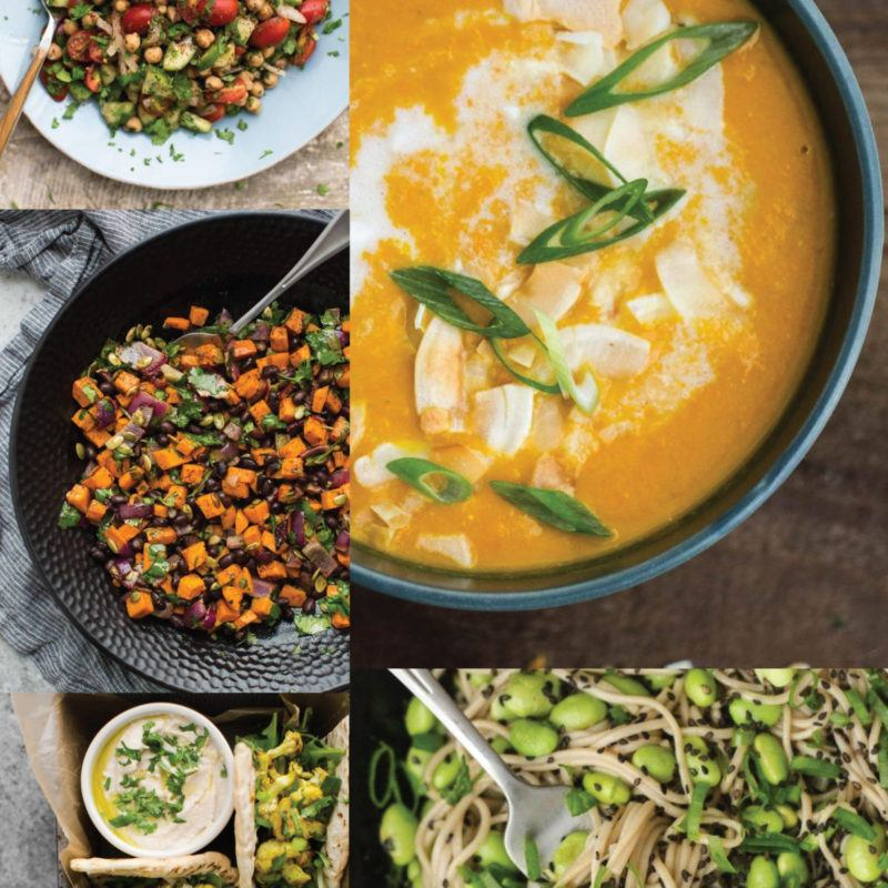 Vegetarian Lunches for the Work Week | @naturallyella