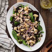 Sumac Cauliflower Salad with Lentils