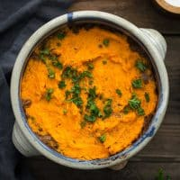 Lentil Shepherd's Pie with Sweet Potatoes