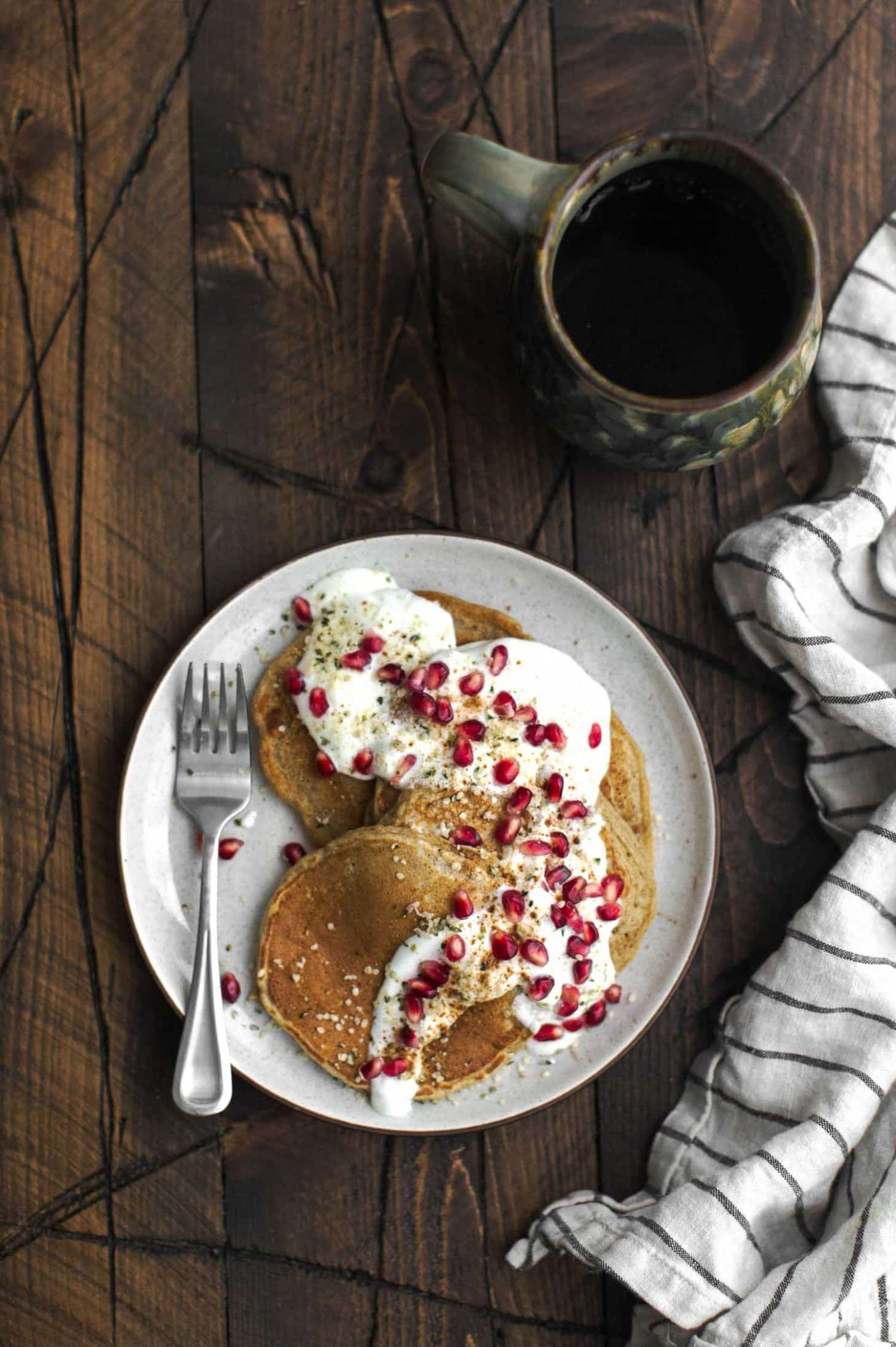 Rye Pancakes with Sorghum | Naturally Ella
