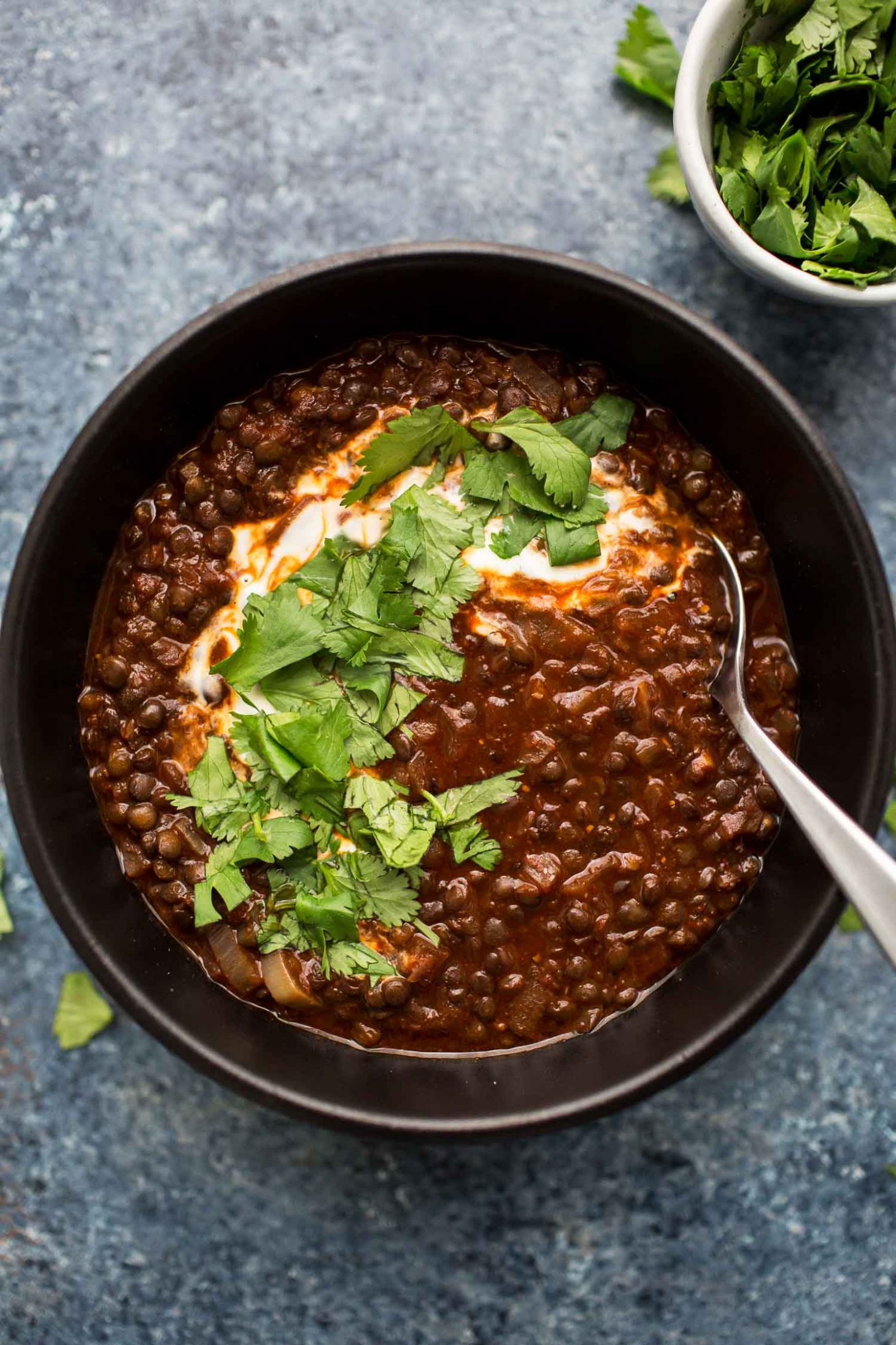 Berbere Black Lentil Stew | Naturally Ella