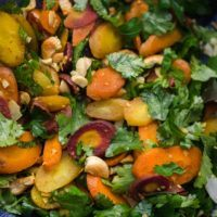 Curried Carrot Cashew Salad