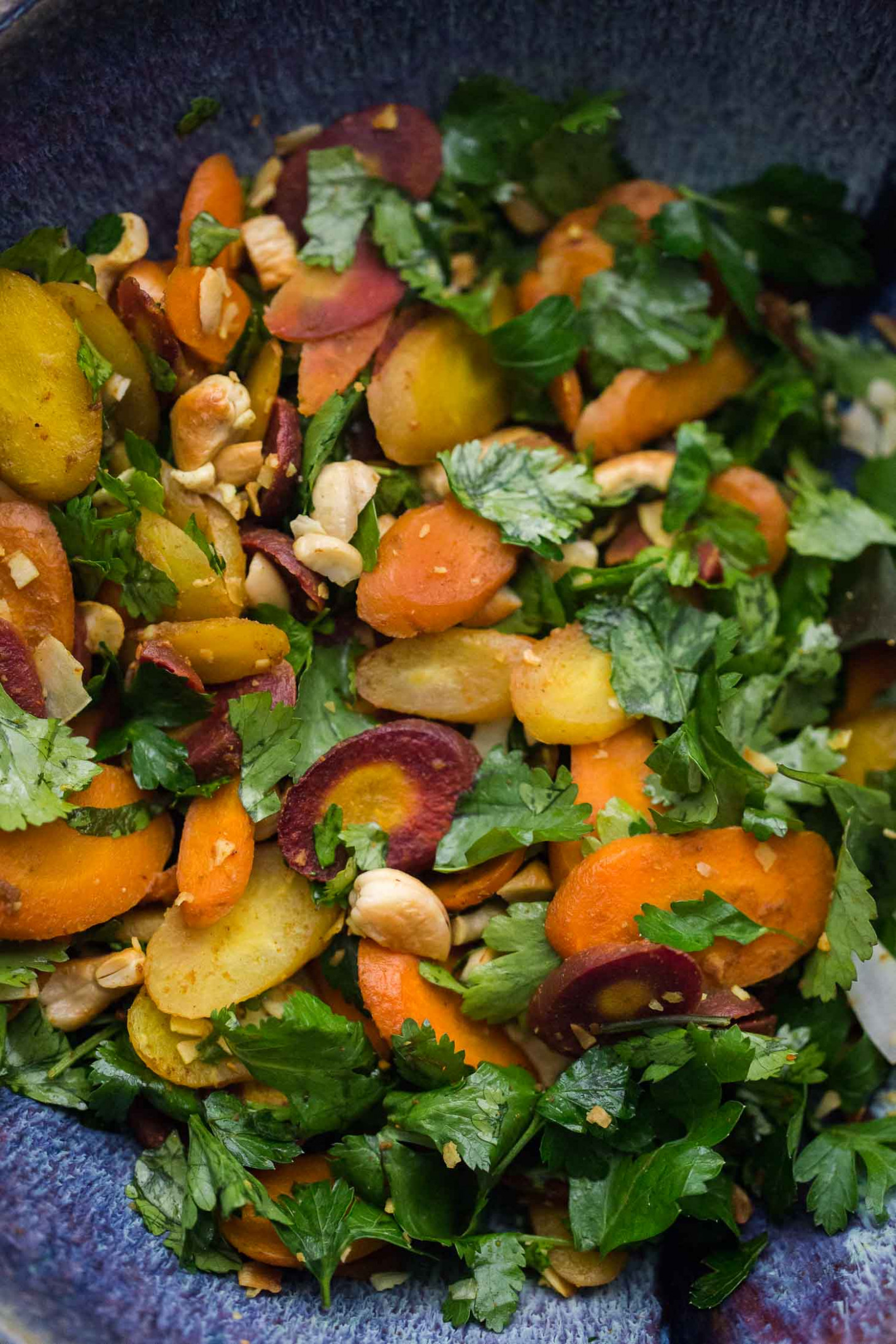 Curried Carrot Cashew Salad | Naturally Ella