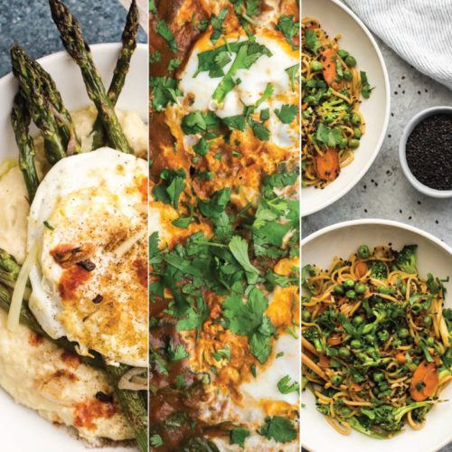 Vegetarian Spring Recipes for Dinner | Naturally Ella