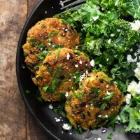 Spiced Chickpea Fritters