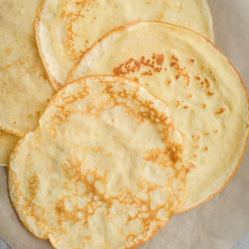 Whole Grain Crepes | Component Cooking | Naturally Ella