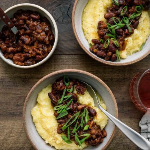 Smoky Beans and Polenta | Naturally Ella