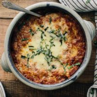 Zucchini Bake with Farro and Ricotta