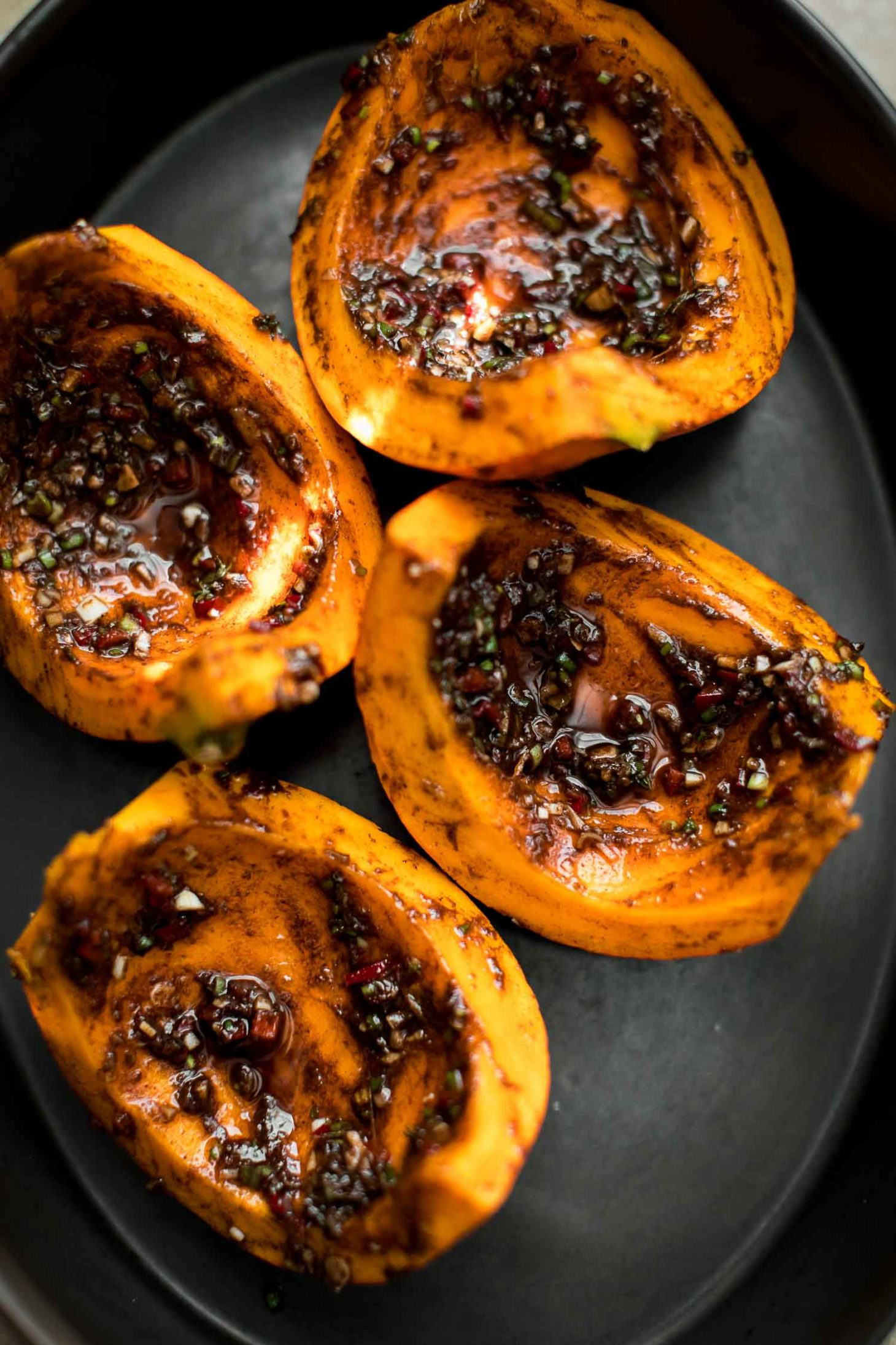 Jerk Roasted Kuri Squash | Naturally Ella