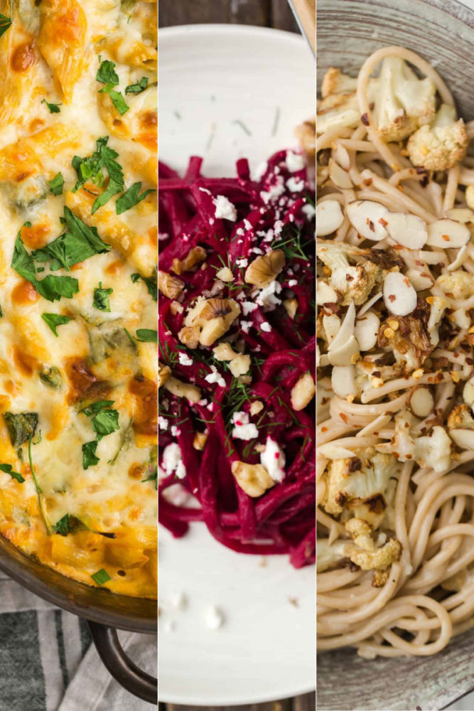 13 Vegetarian Pasta Recipes for Fall