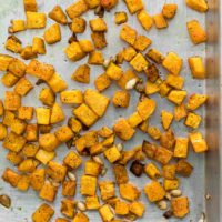 Roasted Butternut Squash | Cooking Component