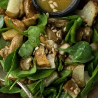 Roasted Sunchoke Salad