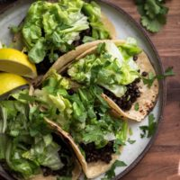 Vegan Tacos with Chipotle Lentils