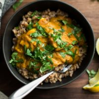 Pumpkin Paneer Curry