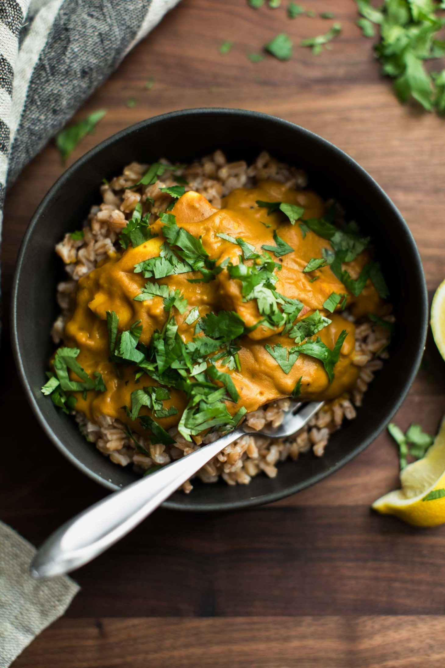 Pumpkin Paneer Curry | Naturally Ella