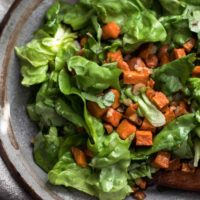 Sweet Potato Salad with Butter-Hazelnut Dressing | Naturally Ella
