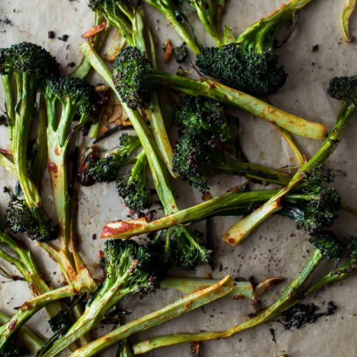 Chile Roasted Broccoli | Cooking Component | Naturally Ella