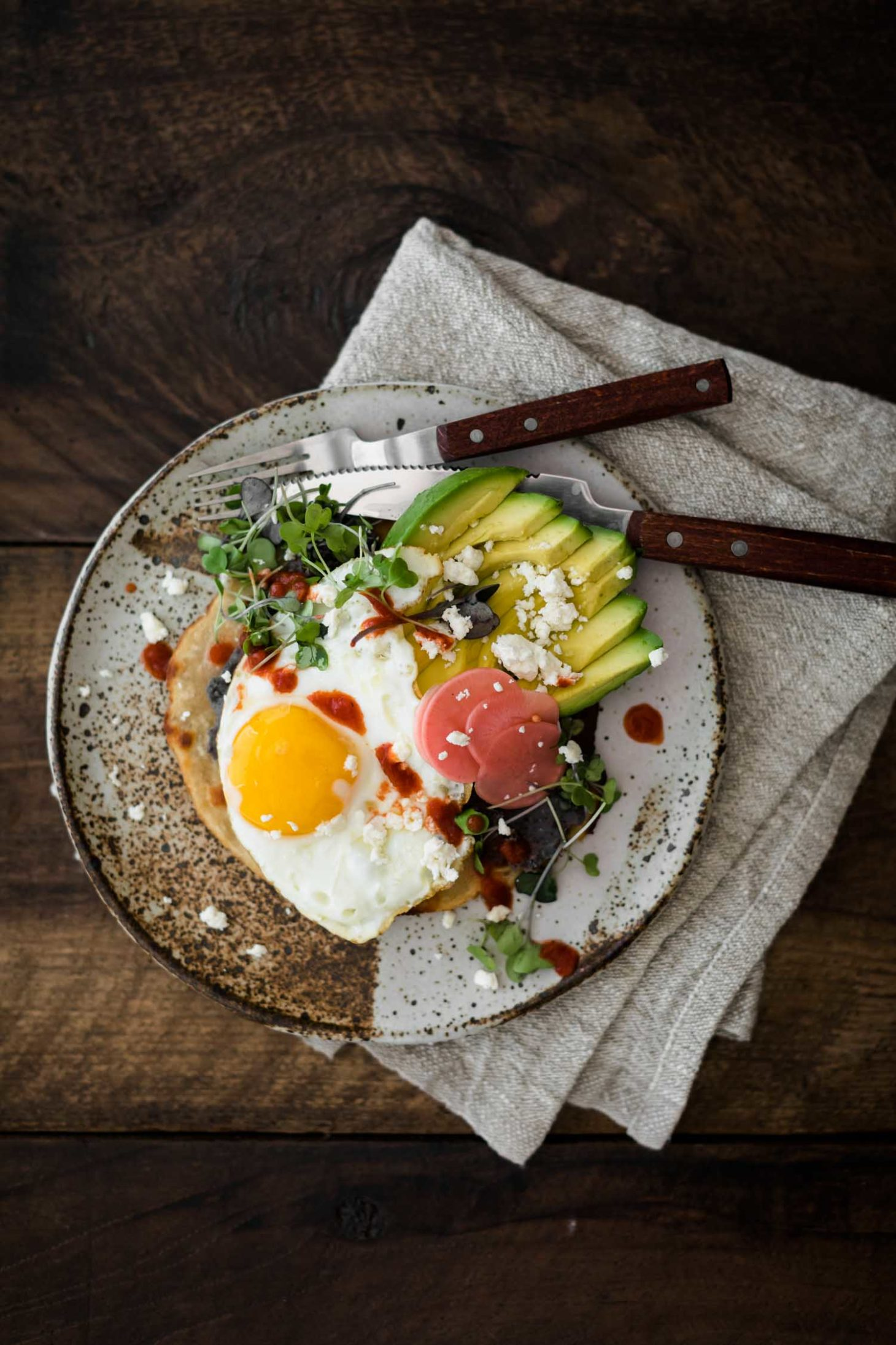 Breakfast Tostada from The Minimalist Kitchen