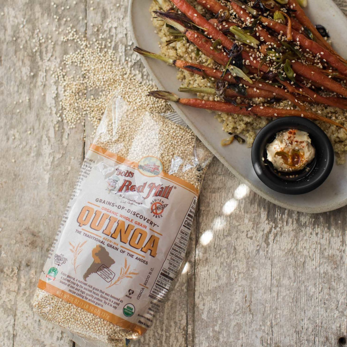 Bob's Red Mill Quinoa | Naturally Ella
