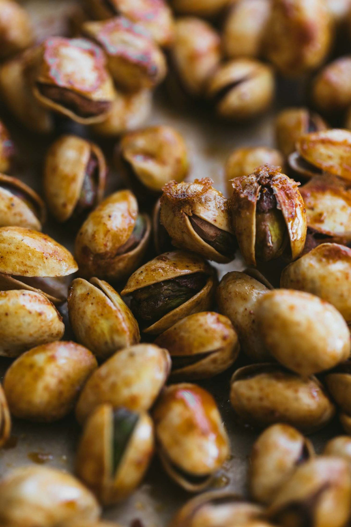 Berbere Roasted Pistachios with Lemon | Naturally Ella