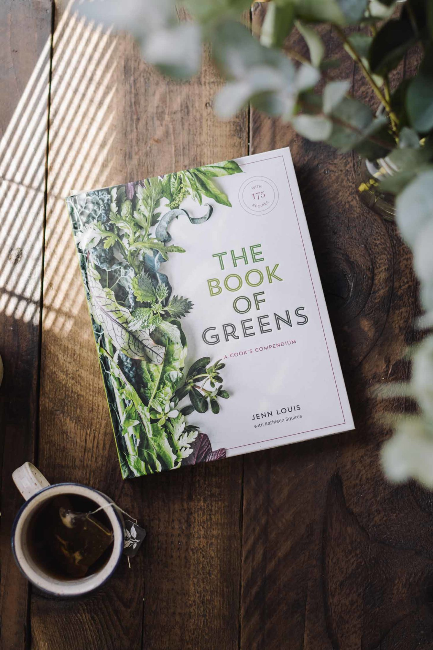 The Book of Greens: A Cook's Compendium of 40 Varieties, from Arugula to Watercress by Jenn Louis