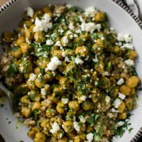 Curried Chickpea Bowls with Quinoa