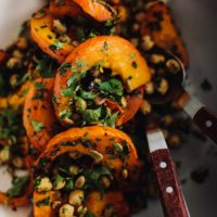 Chipotle Red Kuri Squash with Chickpeas