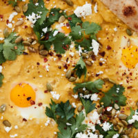 Pumpkin Shakshuka with Feta and Pepitas