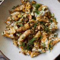 Carrot Cavatelli with Dill and Ricotta
